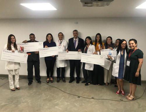 Ganadores de las XXI Jornadas Médicas