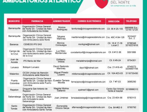 Puntos de Dispensación Ambulatorios Atlántico